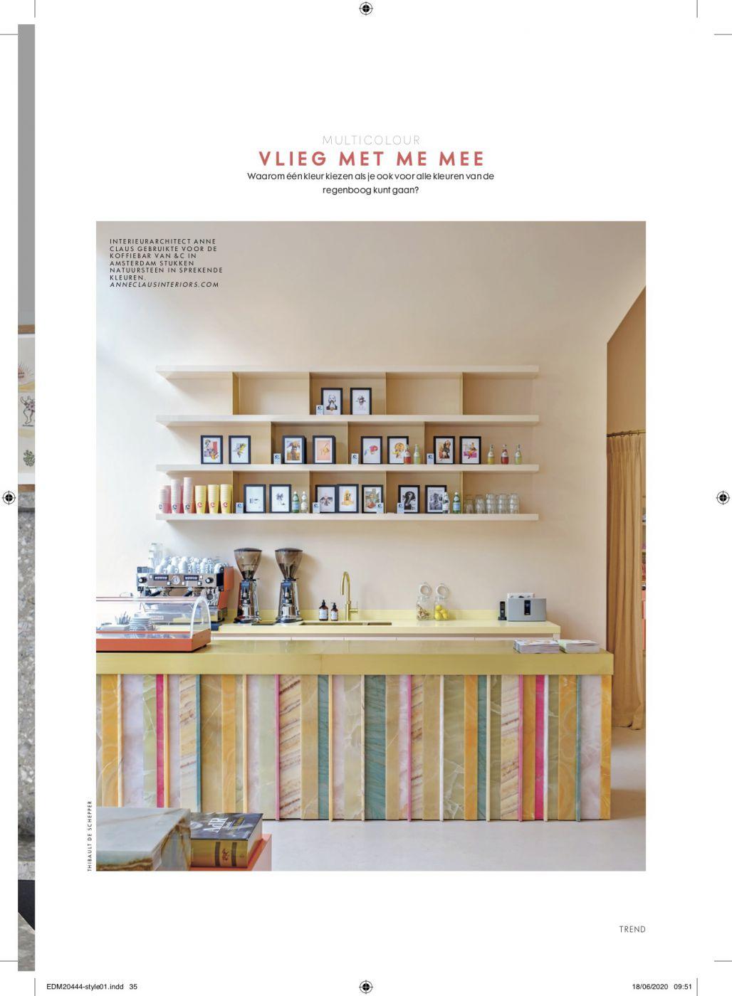 ELLE Decoration NL   Anne Claus Interiors